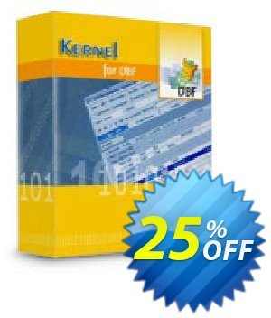 Kernel for DBF Database Repair (Technician) 優惠券,折扣碼 Kernel Recovery for DBF - Technician License staggering promo code 2019,促銷代碼: staggering promo code of Kernel Recovery for DBF - Technician License 2019