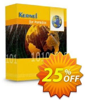 Kernel for Paradox Database Repair discount coupon Kernel Recovery for Paradox - Home License imposing discounts code 2020 - imposing discounts code of Kernel Recovery for Paradox - Home License 2020