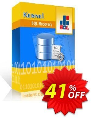 Kernel for SQL Recovery (Corporate License) Coupon, discount Kernel Recovery for SQL - Corporate License dreaded discount code 2020. Promotion: dreaded discount code of Kernel Recovery for SQL - Corporate License 2020