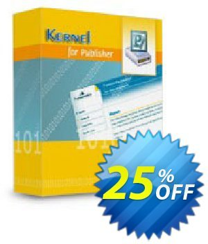 Kernel for Publisher Recovery (Corporate License) 優惠券,折扣碼 Kernel Recovery for Publisher - Corporate License super discount code 2020,促銷代碼: super discount code of Kernel Recovery for Publisher - Corporate License 2020