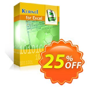 Kernel for Excel Repair (Corporate) discount coupon Kernel Recovery for Excel - Corporate License hottest promotions code 2020 - hottest promotions code of Kernel Recovery for Excel - Corporate License 2020
