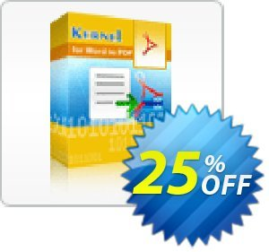 Kernel for Word to PDF - 5 Users License discount coupon Kernel for Word to PDF - 5 Users License best discount code 2020 - best discount code of Kernel for Word to PDF - 5 Users License 2020