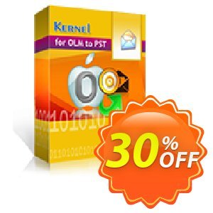 Kernel for OLM to PST (Corporate) Coupon, discount Kernel for OLM to PST Conversion - Corporate License excellent offer code 2020. Promotion: excellent offer code of Kernel for OLM to PST Conversion - Corporate License 2020