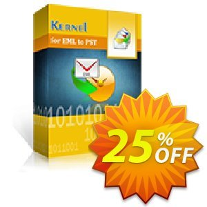 Kernel for EML to PST Conversion - Home User Coupon, discount Kernel for EML to PST Conversion - Home User big discount code 2020. Promotion: big discount code of Kernel for EML to PST Conversion - Home User 2020