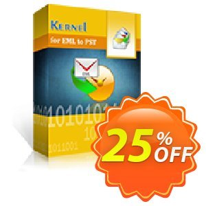Kernel for EML to PST Conversion - Corporate License Coupon, discount Kernel for EML to PST Conversion - Corporate License special discounts code 2020. Promotion: special discounts code of Kernel for EML to PST Conversion - Corporate License 2020
