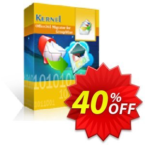 Kernel Office365 Migrator for GroupWise - Technician License Coupon discount Kernel Office365 Migrator for GroupWise - Technician License wonderful discount code 2019. Promotion: wonderful discount code of Kernel Office365 Migrator for GroupWise - Technician License 2019
