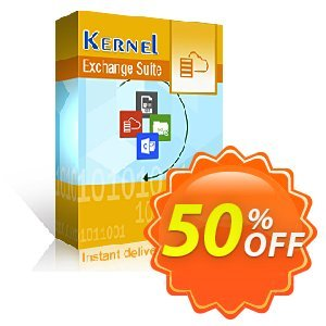 Kernel Exchange Suite (Corporate) Coupon, discount Kernel Exchange Suite - Corporate wonderful deals code 2019. Promotion: wonderful deals code of Kernel Exchange Suite - Corporate 2019