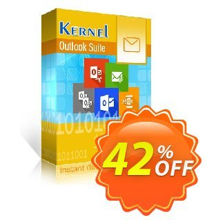 Kernel Outlook Suite Coupon, discount Kernel Outlook Suite - Home User License super discounts code 2020. Promotion: super discounts code of Kernel Outlook Suite - Home User License 2020