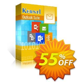 Kernel Outlook Suite (Technician License)割引コード・Kernel Outlook Suite - Technician License amazing promotions code 2021 キャンペーン:amazing promotions code of Kernel Outlook Suite - Technician License 2021