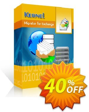 Kernel Migrator for Exchange (500 Mailboxes) Coupon, discount Kernel Migrator for Exchange ( 251 - 500 Mailboxes ) Big deals code 2020. Promotion: Big deals code of Kernel Migrator for Exchange ( 251 - 500 Mailboxes ) 2020