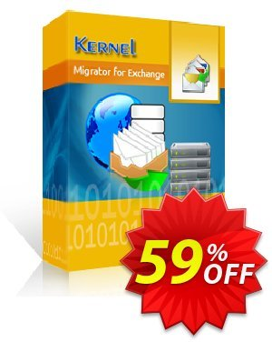 Kernel Migrator for Exchange (100 Mailboxes) Coupon, discount Kernel Migrator for Exchange ( 1 to 100 Mailboxes ) Marvelous promotions code 2020. Promotion: Marvelous promotions code of Kernel Migrator for Exchange ( 1 to 100 Mailboxes ) 2020
