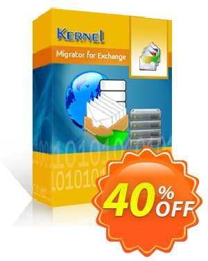 Kernel Migrator for Exchange Express (500 Mailboxes) Coupon, discount Kernel Migrator for Exchange - Express Edition (251 - 500 Mailboxes) Super discount code 2020. Promotion: Super discount code of Kernel Migrator for Exchange - Express Edition (251 - 500 Mailboxes) 2020
