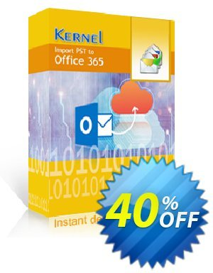 Kernel Import PST to Office 365 (Corporate License) 優惠券,折扣碼 Kernel Import PST to Office 365 - Corporate License Awful discount code 2019,促銷代碼: Awful discount code of Kernel Import PST to Office 365 - Corporate License 2019