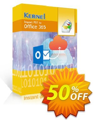 Kernel Import PST to Office 365 Coupon, discount Kernel Import PST to Office 365 - Home User License Imposing promo code 2020. Promotion: Imposing promo code of Kernel Import PST to Office 365 - Home User License 2020