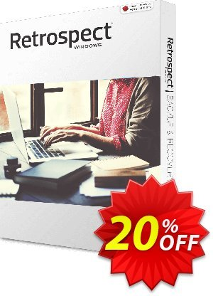 Retrospect Solo Coupon, discount Retrospect Solo v.16 for Windows hottest deals code 2020. Promotion: hottest deals code of Retrospect Solo v.16 for Windows 2020