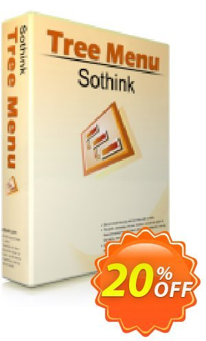 Sothink Tree Menu Coupon, discount Sothink Tree Menu excellent promotions code 2020. Promotion: excellent promotions code of Sothink Tree Menu 2020