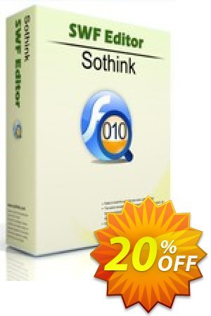 Sothink SWF Editor Coupon, discount Sothink SWF Editor wonderful discount code 2019. Promotion: wonderful discount code of Sothink SWF Editor 2019