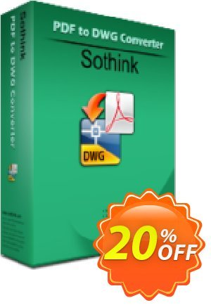 Sothink PDF to DWG Converter Coupon, discount Sothink PDF to DWG Converter excellent promo code 2019. Promotion: excellent promo code of Sothink PDF to DWG Converter 2019