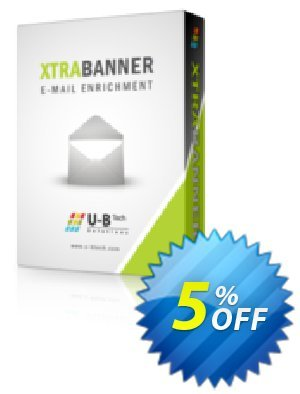XTRABANNER 75 User Licenses Coupon, discount XTRABANNER Launch. Promotion: imposing promo code of XTRABANNER 75 User Licenses 2019