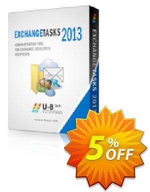 Exchange Tasks 2013 - 1000 Mailbox License Coupon, discount Exchange Tasks 2013. Promotion: exclusive discount code of Exchange Tasks 2013 - 1000 Mailbox License 2019