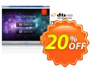 Easy DVD Player Coupon, discount Easy DVD Player awful discount code 2020. Promotion: awful discount code of Easy DVD Player 2020