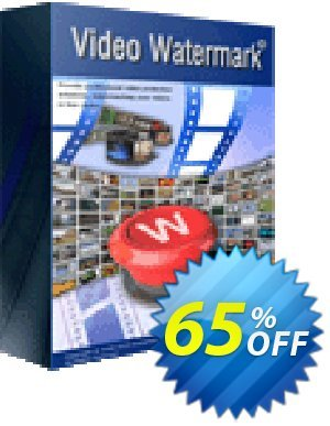 Video Watermark Coupon, discount Video Watermark staggering promo code 2020. Promotion: staggering promo code of Video Watermark 2020