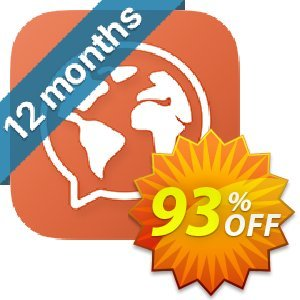 Mondly Premium 33 Languages - Annual Subscription Coupon, discount 92% OFF Mondly Premium 33 Languages - Annual Subscription Nov 2020. Promotion: Impressive promotions code of Mondly Premium 33 Languages - Annual Subscription, tested in November 2020