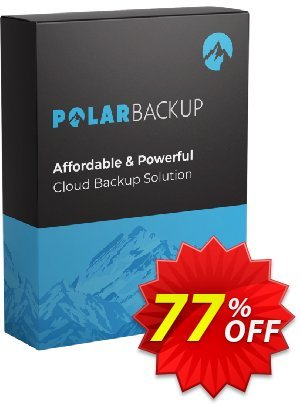 PolarBackup 1TB Coupon, discount 93% OFF PolarBackup 1 TB (Lifetime) Dec 2021. Promotion: Fearsome deals code of PolarBackup 1 TB (Lifetime), tested in December 2021