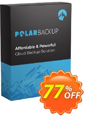 PolarBackup 5TB discount coupon Polar Backup 5 TB - Lifetime Hottest sales code 2021 - Fearsome deals code of PolarBackup 5 TB (Lifetime), tested in December 2021