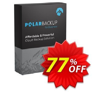 PolarBackup Business License Coupon, discount Polar Backup Business Yearly Imposing discount code 2021. Promotion: Imposing discount code of Polar Backup Business Yearly 2021