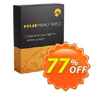 Polarprivacy Shield 1 Device Coupon, discount Polarprivacy Shield 1 Device - Yearly Formidable offer code 2021. Promotion: Formidable offer code of Polarprivacy Shield 1 Device - Yearly 2021