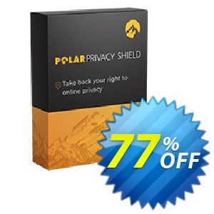 Polarprivacy Shield 3 Devices Coupon, discount Polarprivacy Shield 3 Devices - Yearly Wonderful discount code 2021. Promotion: Wonderful discount code of Polarprivacy Shield 3 Devices - Yearly 2021