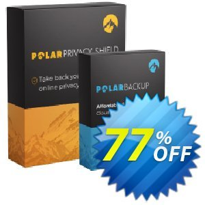 PolarPrivacy Shield 1 Device + PolarBackup 1TB Coupon, discount 50% OFF Polarprivacy Shield 1 Device + Polarbackup 1TB, verified. Promotion: Fearsome deals code of Polarprivacy Shield 1 Device + Polarbackup 1TB, tested & approved