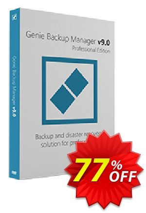 Genie Backup Manager Professional 9 優惠券,折扣碼 Genie Backup Manager Professional 9 best promo code 2019,促銷代碼: wondrous promotions code of Genie Backup Manager Professional 9 2019