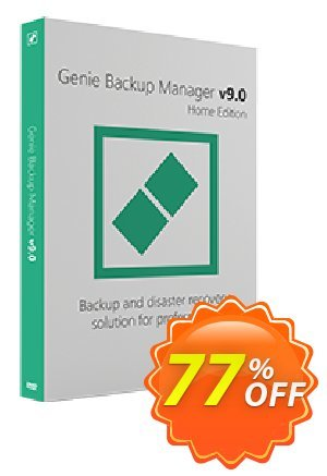 Genie Backup Manager Home 9 discount coupon Genie Backup Manager Home 9 big discounts code 2021 - awful sales code of Genie Backup Manager Home 9 2021