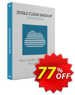 Zoolz Cloud for Business 5TB Coupon, discount Zoolz Business Terabyte Cloud Storage (5 TB) - Unlimited Users/Servers Stunning discount code 2021. Promotion: hottest promo code of Zoolz Business Terabyte Cloud Storage (5 TB) - Unlimited Users/Servers 2021