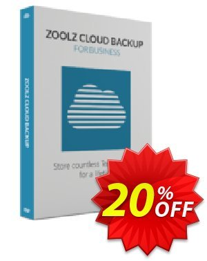 Zoolz Cloud for Business 10TB Coupon, discount Zoolz Business Terabyte Cloud Storage (10 TB) - Unlimited Users/Servers Staggering promo code 2021. Promotion: special discounts code of Zoolz Business Terabyte Cloud Storage (10 TB) - Unlimited Users/Servers 2021