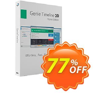 Genie Timeline Home 10 discount coupon Genie Timeline Home 10 Impressive discount code 2021 - wonderful promo code of Genie Timeline Home 10 2021
