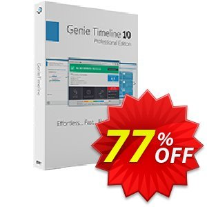 Genie Timeline Pro 10 Coupon, discount Genie Timeline Pro 10 stirring offer code 2021. Promotion: stirring offer code of Genie Timeline Pro 10 2021