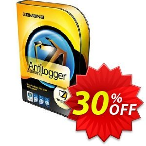 Zemana AntiLogger Coupon, discount Newsletter Special Offer 30%. Promotion: wondrous deals code of Zemana AntiLogger 2020