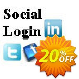 Social Login Script Coupon, discount Social Login Script marvelous discounts code 2020. Promotion: marvelous discounts code of Social Login Script 2020