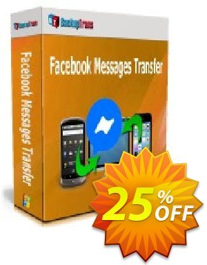 Backuptrans Facebook Messages Transfer (Family Edition) discount coupon 10% OFF Backuptrans Facebook Messages Transfer (Family Edition), verified - Special promotions code of Backuptrans Facebook Messages Transfer (Family Edition), tested & approved