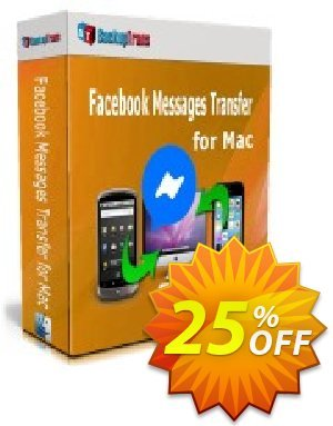 Backuptrans Facebook Messages Transfer for Mac (Family Edition) discount coupon 10% OFF Backuptrans Facebook Messages Transfer for Mac (Family Edition), verified - Special promotions code of Backuptrans Facebook Messages Transfer for Mac (Family Edition), tested & approved