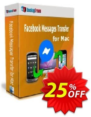 Backuptrans Facebook Messages Transfer for Mac (Business Edition) 優惠券,折扣碼 10% OFF Backuptrans Facebook Messages Transfer for Mac (Business Edition), verified,促銷代碼: Special promotions code of Backuptrans Facebook Messages Transfer for Mac (Business Edition), tested & approved