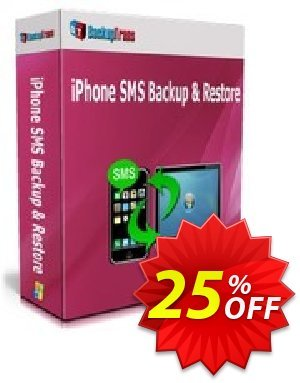 Backuptrans iPhone SMS Backup & Restore (Personal Edition) 프로모션 코드 Backuptrans iPhone SMS Backup & Restore (Personal Edition) fearsome deals code 2020 프로모션: formidable sales code of Backuptrans iPhone SMS Backup & Restore (Personal Edition) 2020