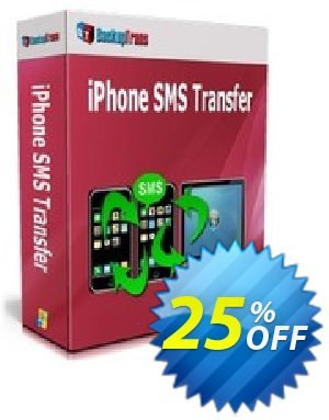 Backuptrans iPhone SMS Transfer Coupon discount Backuptrans iPhone SMS Transfer (Personal Edition) exclusive promotions code 2020. Promotion: special discounts code of Backuptrans iPhone SMS Transfer (Personal Edition) 2020