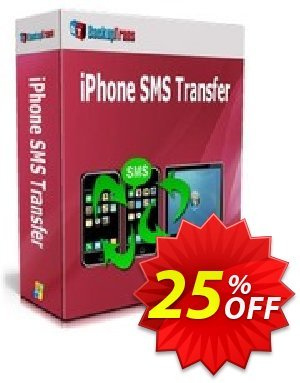 Backuptrans iPhone SMS Transfer (Family Edition) Coupon discount Backuptrans iPhone SMS Transfer (Family Edition) awesome sales code 2020 - exclusive promotions code of Backuptrans iPhone SMS Transfer (Family Edition) 2020