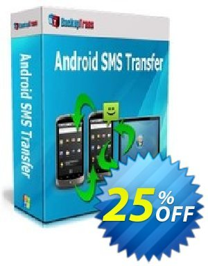 Backuptrans Android SMS Transfer discount coupon Backuptrans Android SMS Transfer (Personal Edition) fearsome offer code 2020 - formidable deals code of Backuptrans Android SMS Transfer (Personal Edition) 2020