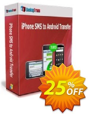Backuptrans iPhone SMS to Android Transfer discount coupon Backuptrans iPhone SMS to Android Transfer (Personal Edition) marvelous discounts code 2021 - excellent promo code of Backuptrans iPhone SMS to Android Transfer (Personal Edition) 2021
