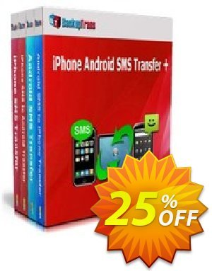 Backuptrans iPhone Android SMS Transfer + (Family Edition) Coupon discount Holiday Deals. Promotion: super discount code of Backuptrans iPhone Android SMS Transfer + (Family Edition) 2020